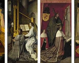 The Trinity Altar Panels — Хуго ван дер Гус