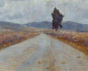 Тосканская дорога — Амедео Модильяни