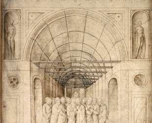 Двенадцать Апостолов в сводчатом коридоре — Якопо Беллини