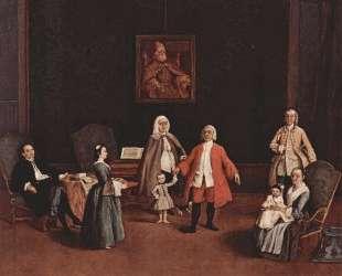 Венецианское семейство — Пьетро Лонги