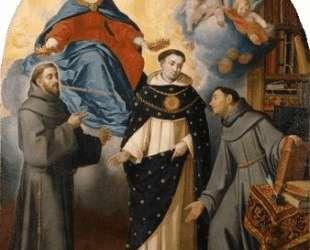 The Vision of Fray Lauterio — Бартоломе Эстебан Мурильо