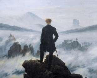 The wanderer above the sea of fog — Каспар Давид Фридрих