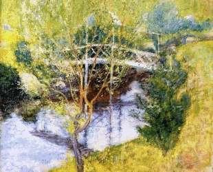 The White Bridge — Джон Генри Твахтман (Tуоктмен)