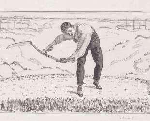 The working mower — Фердинанд Ходлер