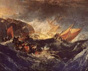 The Wreck of a Transport Ship — Уильям Тёрнер
