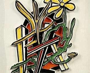 The yellow flower — Фернан Леже