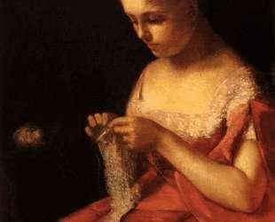 Молодая невеста — Мэри Кассат