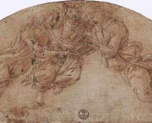 Три ангела — Сандро Ботичелли