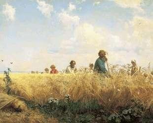 Страдная пора (Косцы) — Григорий Мясоедов