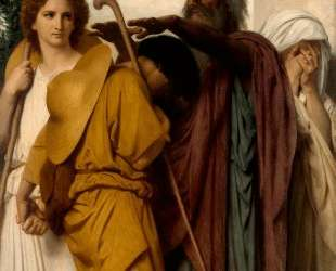 Tobias Receives his Father's Blessing — Вильям Адольф Бугро