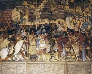Totonac Civilization — Диего Ривера