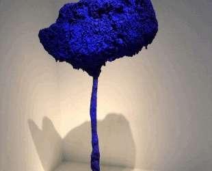 Tree, large blue sponge — Ив Кляйн