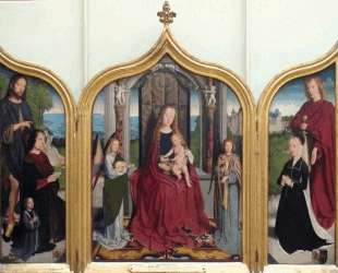 Triptych of the Sedano Family — Герард Давид