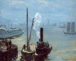 Tugboat and Lighter — Уильям Джеймс Глакенс