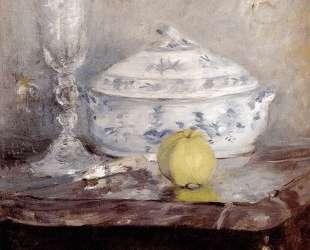 Tureen And Apple — Берта Моризо