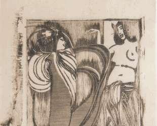 Two dancers — Коломан Мозер