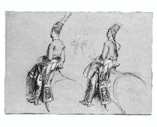 Фигуры двух всадников — Джон Синглтон Копли