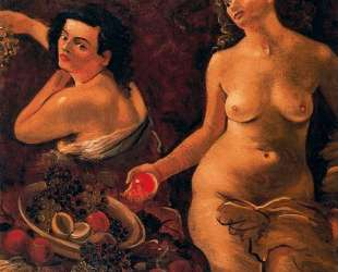 Two naked women and still life — Андре Дерен