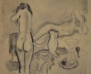 Two nudes in studio — Ян Слёйтерс