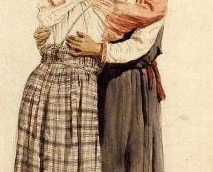 Две женские фигуры (Обнимающиеся крестьянки) — Илья Репин