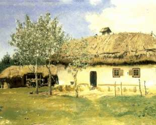 Украинская хата — Илья Репин