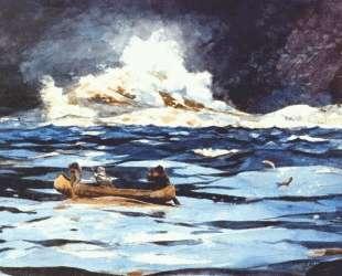 Under the Falls, the Grand Discharge — Уинслоу Хомер