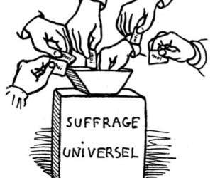 Universal suffrage — Феликс Валлотон