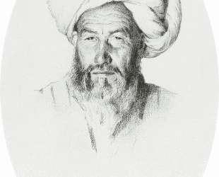 Uzbek, the foreman (elder) village Hodzhagent — Василий Верещагин