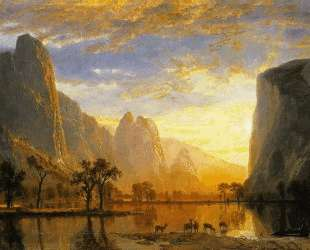 Valley of the Yosemite — Альберт Бирштадт