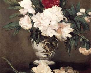 Vase of Peonies on a Small Pedestal — Эдуард Мане