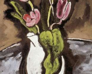 Ваза с тюльпанами — Жорж Брак