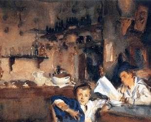 Venetian Interior — Джон Сингер Сарджент