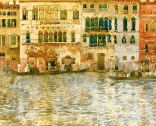 Venetian Palaces on The Grand Canal — Морис Прендергаст