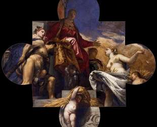 Venice, Hercules, and Ceres — Паоло Веронезе