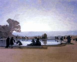 Версаль. Людовик XIV кормит рыб — Александр Бенуа