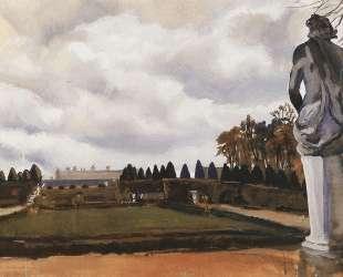 Версальский парк осенью — Зинаида Серебрякова