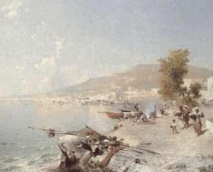 Vietri Sul Mare, Looking Towards Salerno — Франц Рихард Унтербергер
