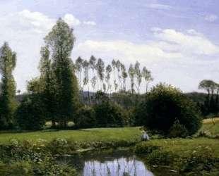 Вид на Рюэль-ле-Гавр — Клод Моне