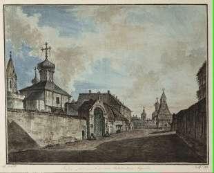 View from the Lubyanka square to Vladimirskiye gate — Фёдор Алексеев