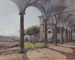 View from the Monastery of Sant 'Onofrio in Rome — Рудольф фон Альт