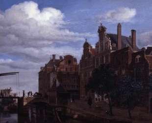 View in Amsterdam — Адриан ван де Вельде