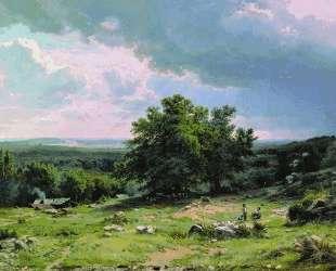 Вид в окрестностях Дюссельдорфа — Иван Шишкин