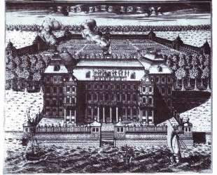 View of A. Menshikov's Palace on Vasilievsky Island — Алексей Зубов