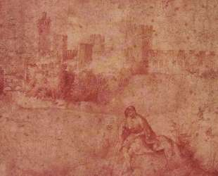 Вид на Кастельфранко и пастух — Джорджоне