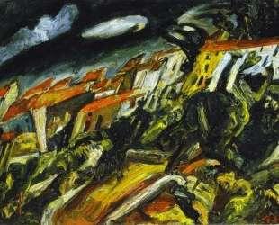 View of Ceret — Хаим Сутин