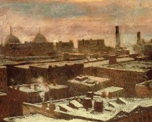 View of City Rooftops in Winter — Роберт Джулиан Ондердонк