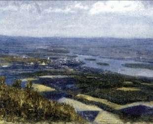 Вид на Красноярск с сопки — Василий Суриков