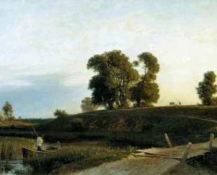 View of Lakhta near St. Petersburg — Лев Лагорио