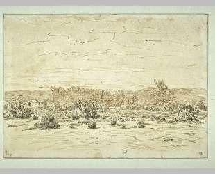 View of Mountains Girard — Теодор Руссо