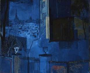 View of Paris from Meudon — Юрий Анненков
